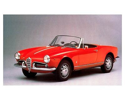 1957 1958 1959 1960 Alfa Romeo Giulietta Spider Automobile Photo Poster zc1267-F