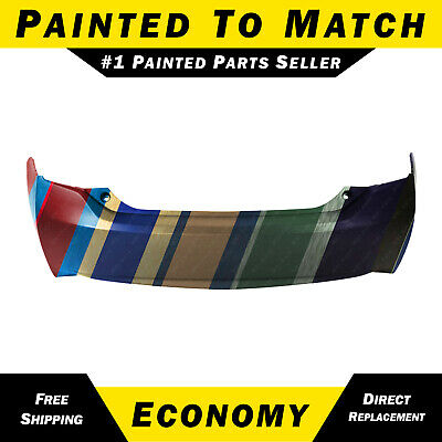NEW Painted To Match - Rear Bumper Cover for 2010-2015 Toyota Prius TO1100280