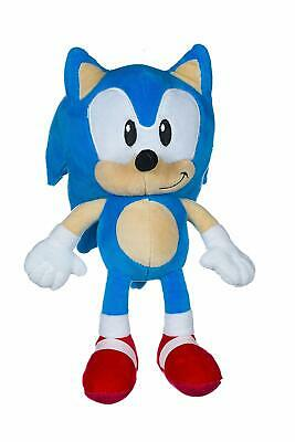 "14"" Sonic The Hedgehog Plush Soft Toy Knuckles Tails Shadow Amy Teddy Bear Bnwt"