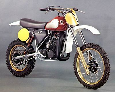 1981 Husqvarna 250 430 WR Motorcycle Automobile Photo Poster zc145-ST41N8