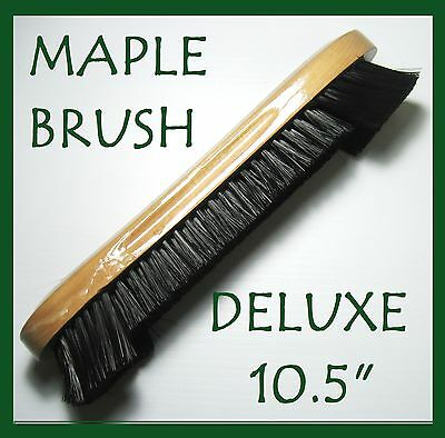 """Maple 10.5"""" Deluxe Snooker Pool Table Bristle Brush a must for all tables......."""