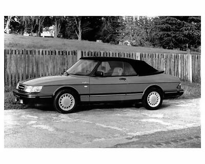 1991 Saab 900 Turbo Convertible Photo Poster zub0097-KMBRPU