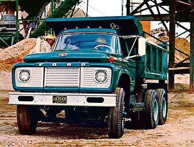 1968 Ford F & T Heavy Duty Conventional Truck Photo Poster zc1521-GFV99R