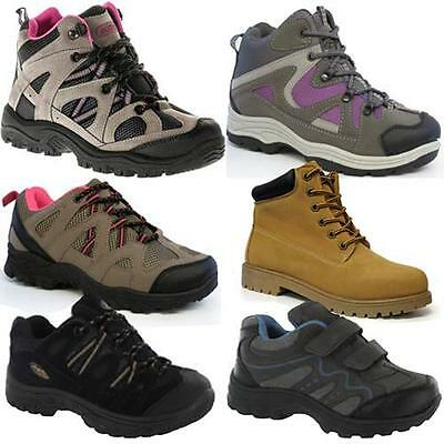 Ladies Hiking Boots Womens Girls Trail Trekking Walking Trainers Shoes Size 3-8