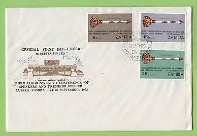 Zambia 1973 third Commonwealth Conference First Day Cover