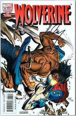Wolverine #65 Df Dynamic Forces Signed Ron Garney Coa Ltd 65 Nm Mystique