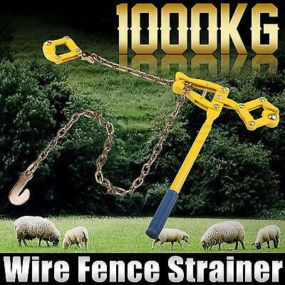 Fencing Strainer Plain & Barbed Wire Electric Fence Energiser Chain Repair Tool