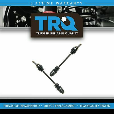 Front CV Joint Axle Shaft Pair Set for Subaru Impreza Legacy Forester