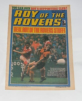 Roy Of The Rovers Comic 25Th March 1978 Arthur Graham Of Leeds United