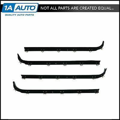 Window Sweep Weatherstrip Seal Kit Set of 4 for 75-91 Ford Econoline E Series
