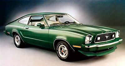 1977 Ford Mustang II Limited Edition Automobile Photo Poster zc2366-RMGDAK