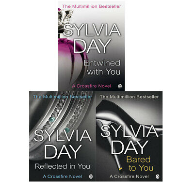 Sylvia Day Crossfire Trilogy Collection 3 Books Set, Entwined With You