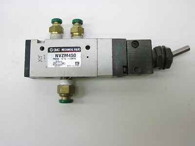 SMC NVZM450 Mechanical Actuated / Pilot Operated Valve w/ Toggle Lever
