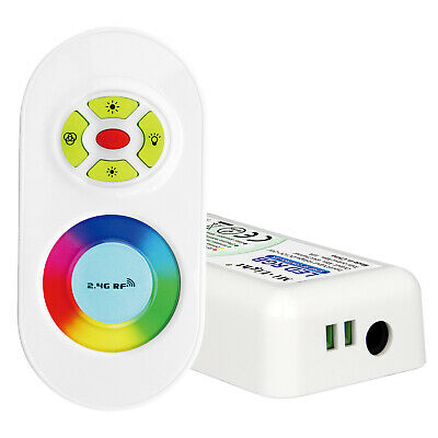 LED RGB Funk Controller Steuergerät 12V 18A mit Touch Fernbedienung
