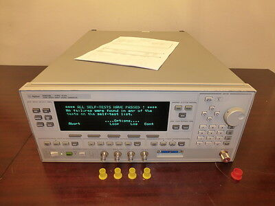 Agilent / HP 83623B Synthesized Sweep Signal Generator - CALIBRATED!