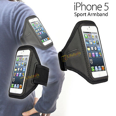 Sports Running Jogging Gym Armband Arm Band Case Cover Holder for iPhone 5 5S
