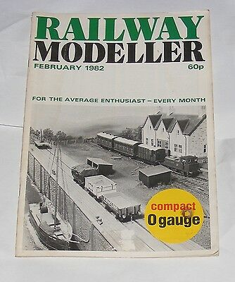 Railway Modeller Volume 35 Number 376 February 1982 - Laxford Bridge