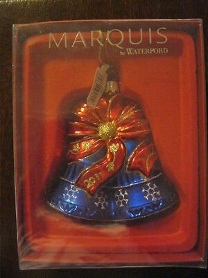 Waterford Marquis Our First Christmas Bell 2011 New Sealed Box