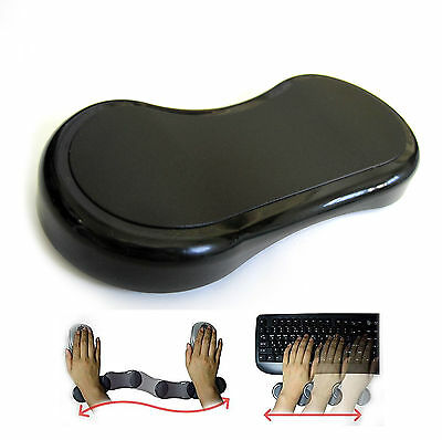Moving Comfort Wrist Mouse Pad For Optical Mouse Sliding Pad With Wrist Rest