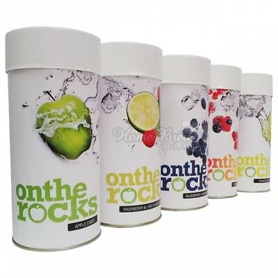 On The Rocks Cider Kit Refill Apple Pear Raspberry Lime Berry Home Brew CHOICE