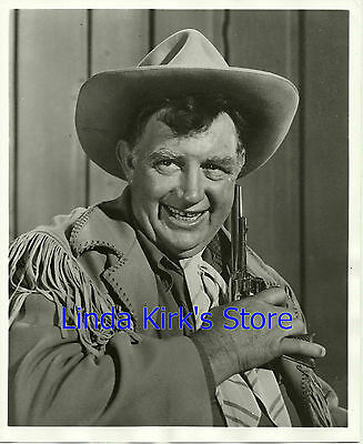 "Andy Devine Promotional Photograph ""Jingles, Wild Bill Hickok"" ABC-TV 1957"