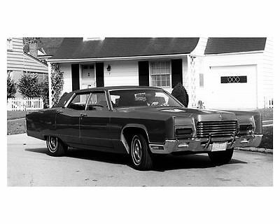 1971 Lincoln Continental Factory Photo ub5266-CH164S