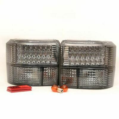 For VW Transporter T4 And Caravelle 90 - 03 Rear Tail Lights Smoked Led Pair