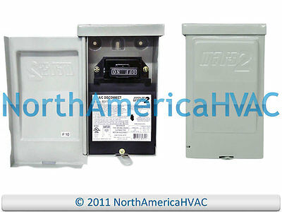 NEW MARS2 60A AMP Non-Fused Disconnect Shut Off  Box 80315 1 Phase 240 volt