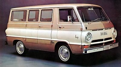 1966 Dodge A100 Sportsman Wagons Photo Poster zc3253-28RGWH