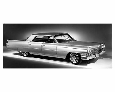 1963 Cadillac Four Window Sedan DeVille Automobile Photo Poster zub4632-LRM7QK
