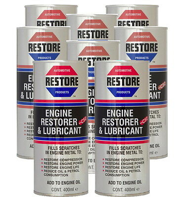 New RESTORE engines DAF VOLVO SCANIA trucks with 3.2 litres AMETECH RESTORER OIL