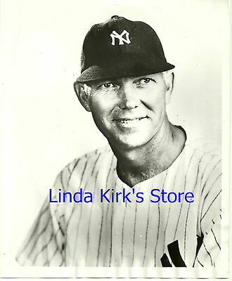 "Bill Dickey Promotional Photograph New York Yankees ""Big Playback"" 1939"
