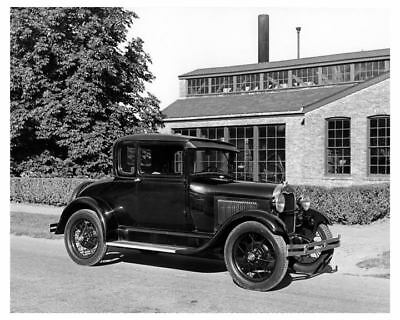 1929 Ford Model A Coupe Automobile Photo Poster Henry Ford Personal Car zub5181-