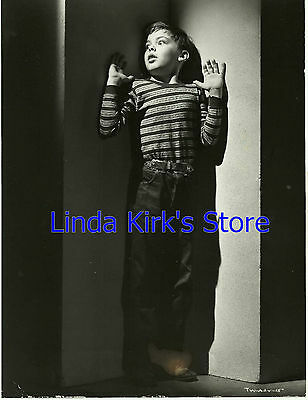 "Bobby Driscoll Promotional Photograph ""The Window"" Black & White 1950s"