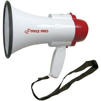 New Pyle Pro PMP30 Professional 30 Watt Megaphone Bullhorn with Built-In Siren