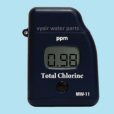 Milwaukee MW11 TOTAL Chlorine LCD Tester: For Ponds, Spas Pools & Drinking Water