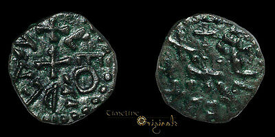 Rare Aethelred Ii Of Northumbria Leofdegn Anglo Saxon Hammered Styca Coin 026606