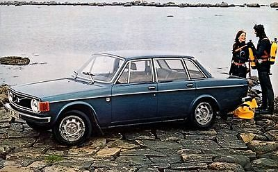 1973 Volvo 144 Grand Luxe Sedan Automobile Photo Poster zc3758-B7D5G1