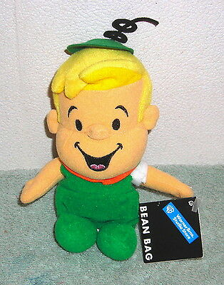 "Warner Brothers Studio Hanna Barbera Jetsons Elroy Jetson 6"" Plush Bean Bag"