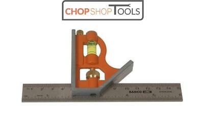 Bahco Cs150 Combination Square 150Mm 6""