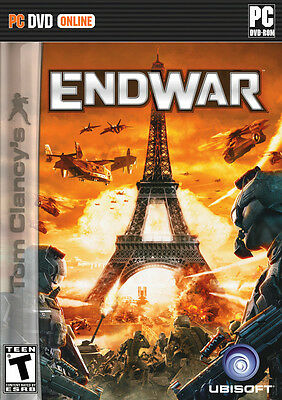 NEW! Tom Clancy's EndWar for PC SEALED NEW