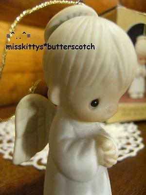 Precious Moments~ORNAMENT~DATED 1981~E5629~Angel noPatch~Let The Heavens REJOICE