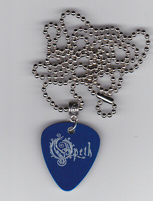 Opeth Guitar Pick  Pendant Necklace Custom Engraved