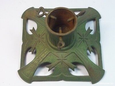 VINTAGE CAST IRON CHRISTMAS TREE STAND GERMAN ANTIQUE 1920´s - #3