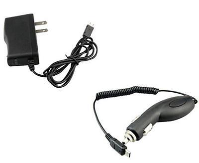 New Wall AC DC Home Travel House + Car Battery Adapter Charger for ATT Phones