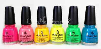 *China Glaze Nail Lacquer - POOLSIDE- Summer Collection- Pick Your Color