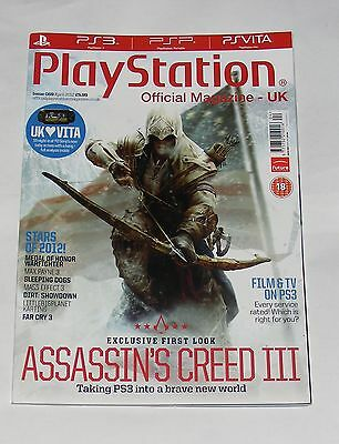 Playstation Magazine Issue 69 April 2012 - Assassin's Creed Iii