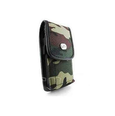 Vertical Military Camouflage Clip Cover Camo Rugged Heavy Duty Holder Case Pouch