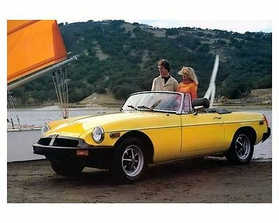 1978 MG MGB Automobile Photo Poster zc4022-5AB849