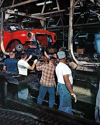 1962 AMC Rambler Kenosha Assembly Line Automobile Photo Poster zc4100-IFP7QS